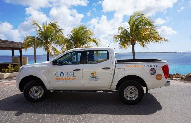 Coral Restoration Foundation - car